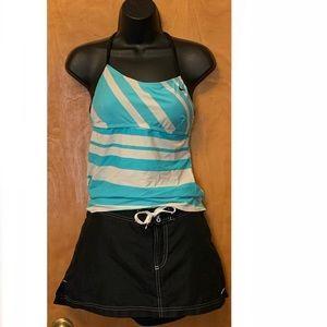 Nike Swim 2 Piece Tankini/Board Shorts